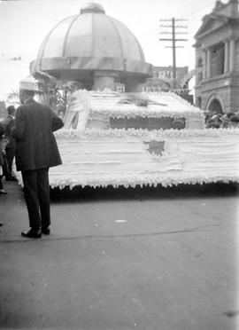 Float for United Commercial Travelers Victoria No. 534 in the May 24 Victoria Day parade