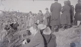Gray family at Easter sunrise service, Mount Tolmie, 1923