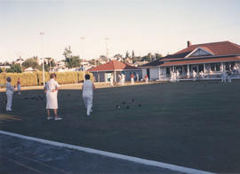Opening day of the season, Burnside Lawn Bowling Club, 1988