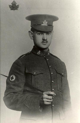 [William] Hector of Tattersall Drive in World War I uniform