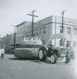 Saanich May Day Float, 1956