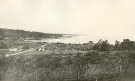 View from Sinclair's Hill to Cadboro Bay