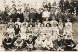 Mount View High School Class, Division 5, 1935