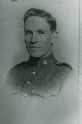 Arthur Stewart before going overseas in First World War