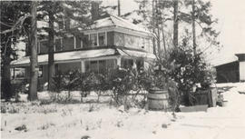 Home of John Graham Graham, 3987 Gordon Head Road, in winter