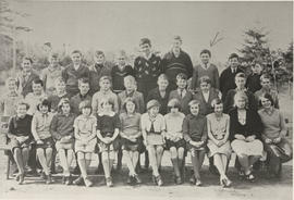 Students at Cedar Hill School, 1935