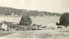 View of Cadboro Bay, 1930s