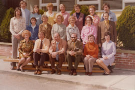 Campus View School staff, 1976