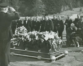 Funeral of Constable Robert Kirby at Royal Oak Burial Park