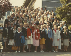 BC Women's Institute members at Associated Country Women of the World Conference, 1983