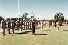 11 (Victoria) Medical Company at the Freedom of Saanich ceremony, 1994