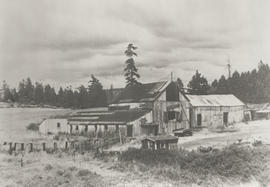 Rowland barn, now site of Colquitz School