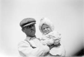 Alfred B. Estlin with Mary Joan Key in Manitoba