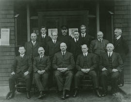1918 Saanich Council and Senior Employees