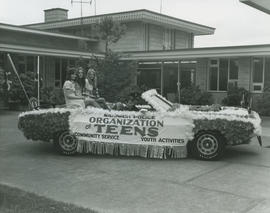 Saanich Police Department Organization of Teens float, 1971