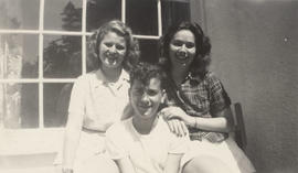 Jean Maxine Penson Martelli, Robert John Martelli and a friend