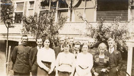 Saanich Municipal employees, 1917