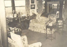 Interior of the Graham home, 3987 Gordon Head Road