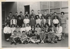 Gordon Head Junior High School class, 1962, Div. 12