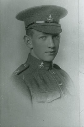[Hector or Stewart family son] of Tattersall Drive in World War I uniform