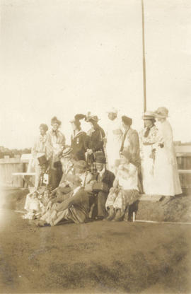 Bowlers in fancy dress, Burnside Lawn Bowling Club