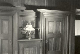 Interior doors and panel details, Dodd house, 1978