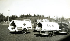 ARP ambulance during World War II