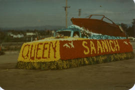 Saanich May Day Float, 1955