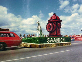 Saanich Fire Department float, Victoria Day Parade