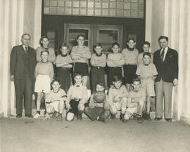 Doncaster School basketball team, 1951