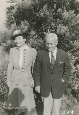 Ethel and Claude Lytton in Vancouver