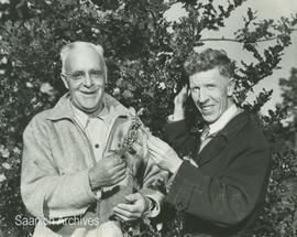 Alan Littler (at right), Horticulturalist with the BC Department of Agriculture