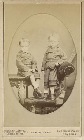 Twins William (Willie) George and Frederick (Fred) James Fairchild