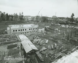 Education and Arts Complex under construction, University of Victoria