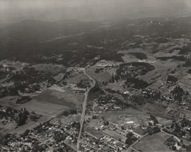 Aerial view of the Interurban area showing the Wilkinson Road Jail and the Glendale Lands