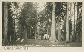 A view of the grounds, Sooke Harbour Hotel