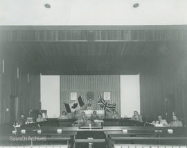 Saanich Council in chambers 1978