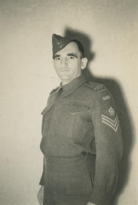 Fred Wright in uniform