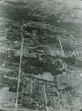 Aerial View of McKenzie Avenue construction, 1968