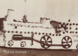 Float in the Victoria Carnival parade, August 1913