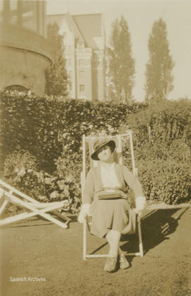 Maude Hall, Empress Hotel rose garden