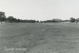 Cedar Hill Golf Course [with Mount Douglas in the distance]