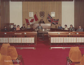 Saanich Council in chambers 1979