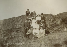 Bradshaw family on Mount Tolmie