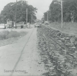 Construction of McKenzie Avenue