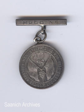 Battle of Jutland medal (front) awarded to Muggins