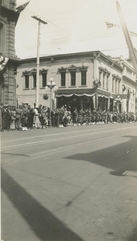 Parade at Fort and Government Street