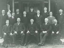 Saanich Council and Officers 1916