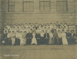 Vancouver Normal School [class photograph]
