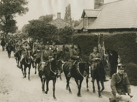 The Army Manoeuvres, scenes at Eriswell